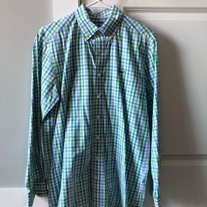 Vineyard Vines Slim Fit Whale Shirt, Size Small